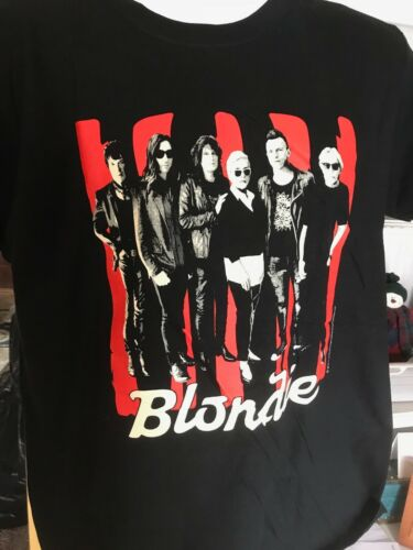 Blondie 2018 Tour T-shirt new size L