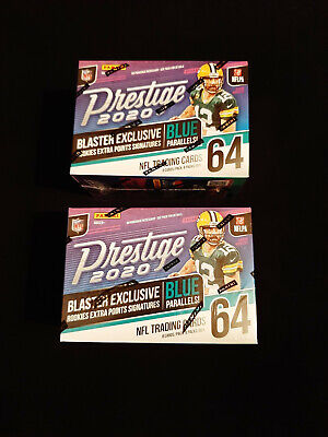 2020 PRESTIGE FOOTBALL BLASTER BOXES  (LOT of 2 Boxes!!!)