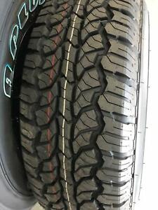 Brand new 265/70R17 all terrain tyres