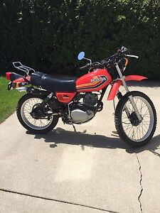 1978 Honda Enduro XL 250 S