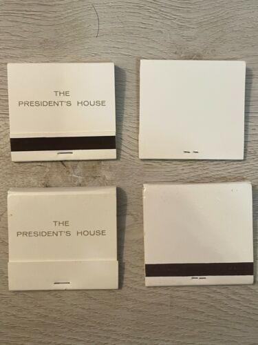 Authentic matchbooks from the White House