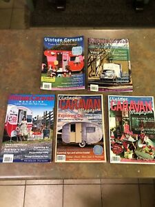 Vintage Caravan Magazine Issues 1 - 5