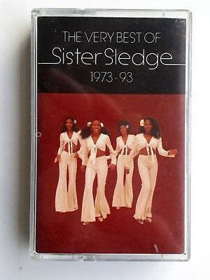 Sister Sledge The Very Best 1993 1973-93 Cassette Made In Germany Brand New (Best Brands In Germany)