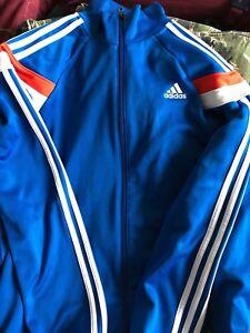 Adidas knicks basketball jacket