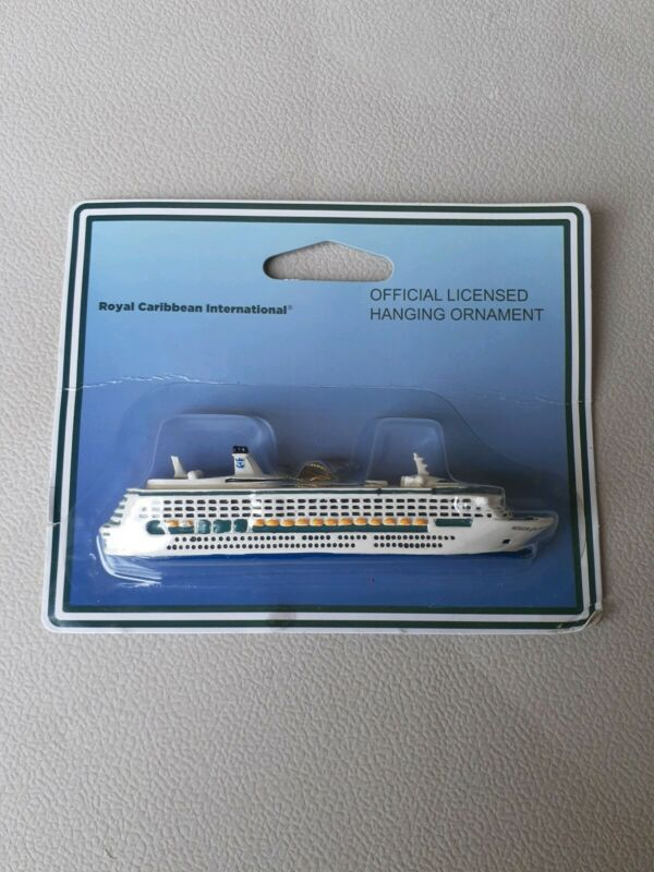 OFFICIAL LICENSED ROYAL CARIBBEAN INTERNATIONAL SHIP ~ CHRISTMAS ORNAMENT (NEW)