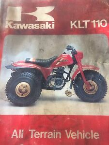 1984 Kawasaki KKT110 ATV Service Manual