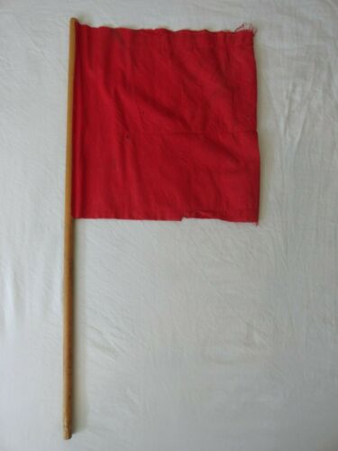 VINTAGE UNITED STATES ARMY SIGNAL CORPS MILITARY SEMAPHORE FLAG