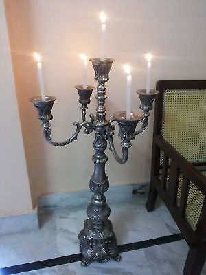 Nautical Table Decorations For Weddings (Candelabra 36