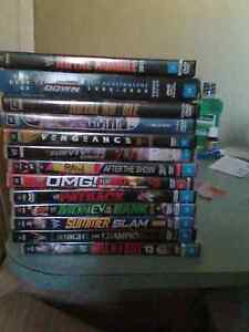 Wwe dvds for sale Carey Bay Lake Macquarie Area Preview