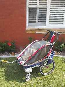 Thule Chariot bike trailer for two kids Maroubra Eastern Suburbs Preview