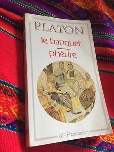 Livre Platon le banquet, Phèdre