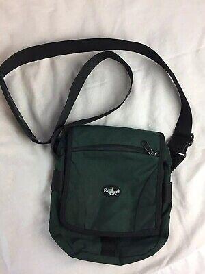 EAGLE CREEK Green Crossbody Messenger Climbing Hiking Day Bag -