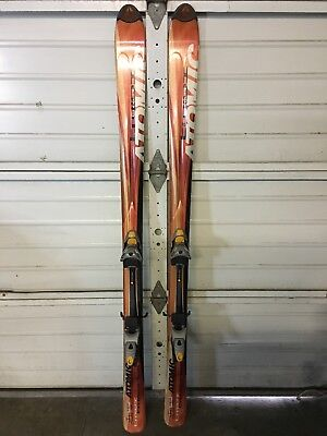 Atomic TM EI TM Series Skis 180cm with Bindings MINOR SCRATCHES (Used) EBOT  R fd0389f67