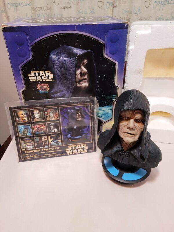 1997 Legends in 3 Dimensions Star Wars Emperor Palpatine 1227/2500 NIB