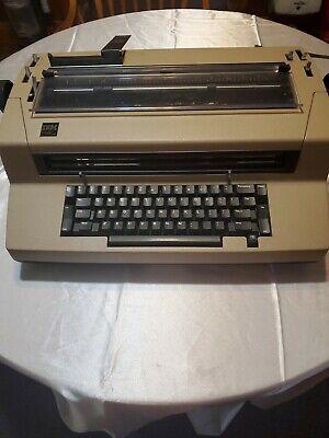 Vintage Tan Brown Ibm Selectric Iii 3 Electric Correcting Typewriter