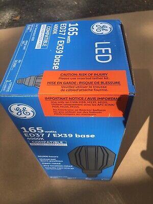 New GE 21259 165w Ed37/ EX39 Base 4000K HID Lamp