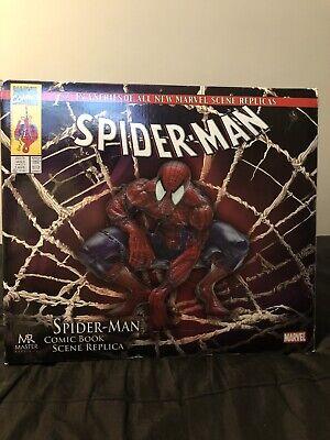 SPIDER-MAN COMIC BOOK SCENE STATUE MASTER REPLICAS Marvel Figure Mcfarlane MR