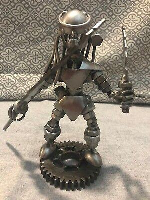 Scrap Metal Sculpture Handmade Gifts Scrap Metal Art Cool Gifts Predator