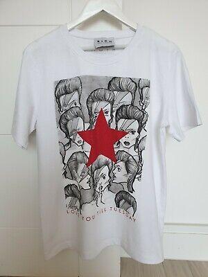 "John Richmond ""Bowie"" Tshirt / Size Large - Brand New No Tags"