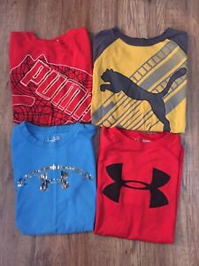 Under Armour & Puma shirts - size small