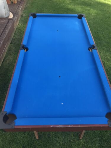 Used Pool / Snooker Table Good Condition No Balls