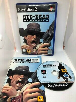 Red Dead Revolver Sony Playstation 2 PS2 Game PAL UK Complete