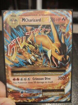 Mega M Charizard EX 13/108 XY Evolutions Pokemon Card Near Mint