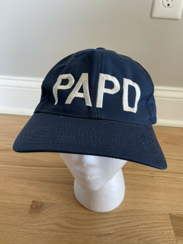 Vintage Port Authority Police Department New York PAPD 9/11 Hat Snapback