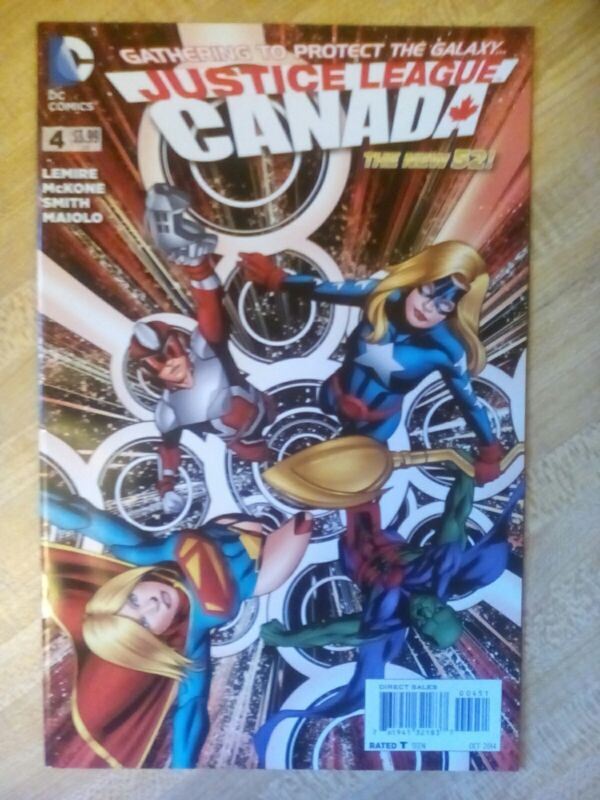 Justice League Canada #4 New 52 NM