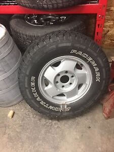 Ms tires and rims aluminum  16 inch
