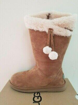 Ugg Australia  Women's Plumdale Cuff Shearling Tall  Boots  Size 8 NIB for sale  Mansfield
