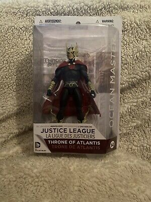 DC Justice League Throne Of Atlantis Ocean Master Action Figure NIB Aqua Man NEW