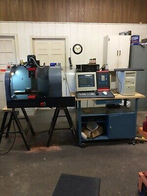 Emco Maier Pcmill- 50 Cnc Milling Machine Complete System Ready To Make Parts