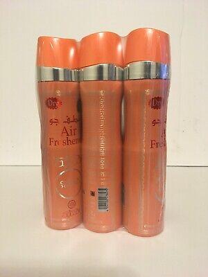 Nabeel Oud Oil Spray Body Linen Home Dry Air Freshener 3pcs Special Pack 300ml