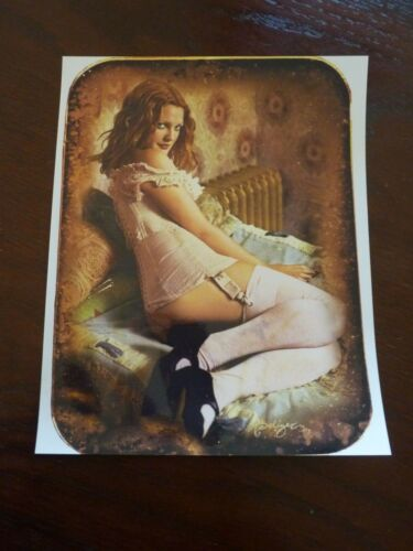 Drew Barrymore Sexy Actor 8x10 Color Promo Photo #2