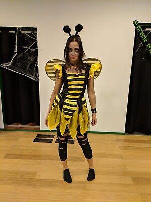 Zom-bee Halloween Costume Women's Adult Size S