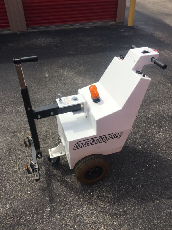 Cart Puller/Pusher Equipment Mover- Cart Caddy Lite Up To 1500lbs 0-3 Mph FL P/U