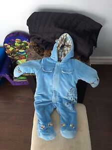 Winter suit and Panda Halloween costume (9month)