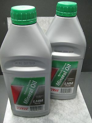 TRW Hydraulic System Mineral Oil LHM Plus for Rolls Jaguar & Bentley - Pack of 2