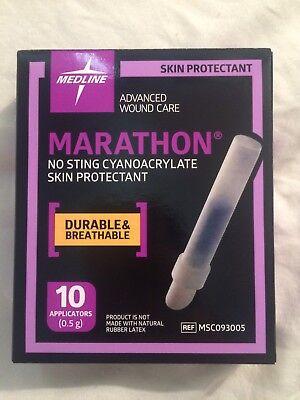 Marathon Skin Protectant FULL BOX OF 10 Vials Exp 05/28/21 Or Greater 10 Vial Box