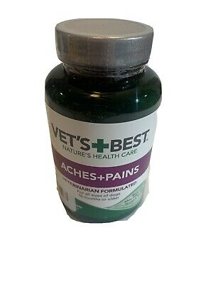 Vets Best Aspirin Free Aches+Pains Dog Supplement, for Dog Pain and Joint