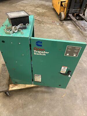 Onan Cummins 400 Amp Transfer Switch Ltb-5550765 Crf1 150 Kk2