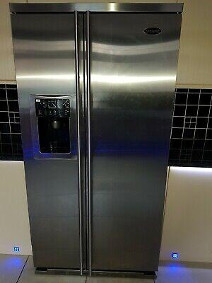 American style fridge freezer with ice maker