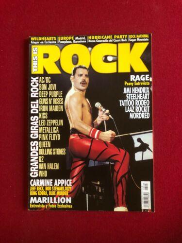 "2004, Freddie Mercury (QUEEN), ""ROCK"" Magazine (No Label) Scarce /Vintage"