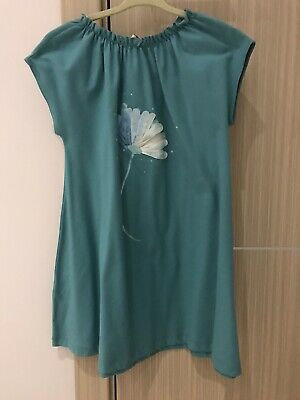 Il Gufo Girls Dress, Blue, Size 6, NWT