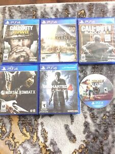 PS4 Games For Sale / Read Description For Prices