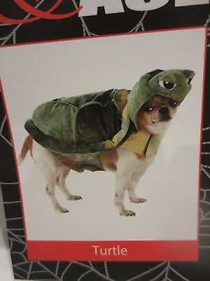 Tucker & Ace Halloween Costume For Dogs TURTLE  NWT