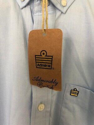 Admiral Men's Casual Shirt Size M Bnwt