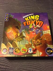 Richard Garfield King of Tokyo by iello