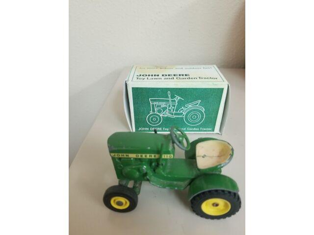 Vintage John Deere 110 Garden Tractor with all yel